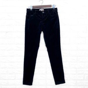 Banana Republic Black Velvet Pants SZ 0